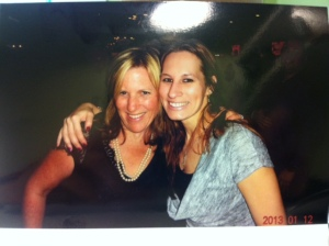 Jill Merriam and Joci Sherwood, Service Coordinator at the Key Hyundai Holiday Party
