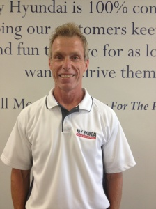 Larry, a 9 1/2 year employee of Key Hyundai of Milford